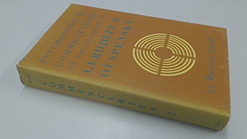 9780722400647: Psychological Commentaries on the Teaching of Gurdjieff and Ouspensky Vol 2