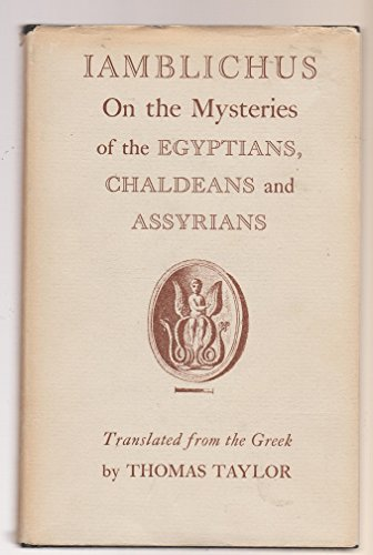 9780722400814: On the Mysteries of the Egyptians, Chaldeans and Assyrians