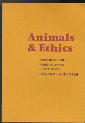 9780722401804: Animals and Ethics
