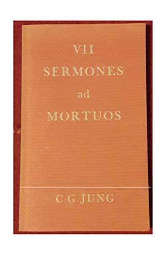 VII Sermones Ad Mortuos: Jung, C.G.