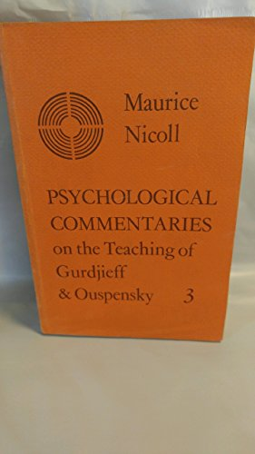 9780722401828: Psychological Commentaries on the Teaching of Gurdjieff & Ouspensky, Vol. 1