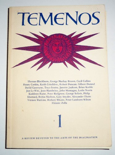9780722401880: Temenos 1: A Review Devoted to the Arts of the Imagination (Volume 1)