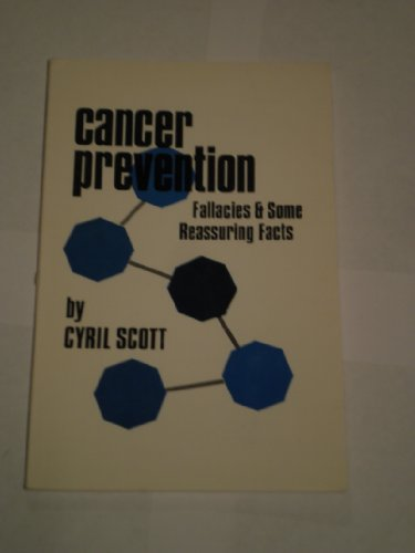 9780722500248: Cancer Prevention