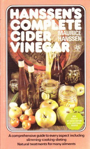Complete Cider Vinegar: Hanssen, Maurice