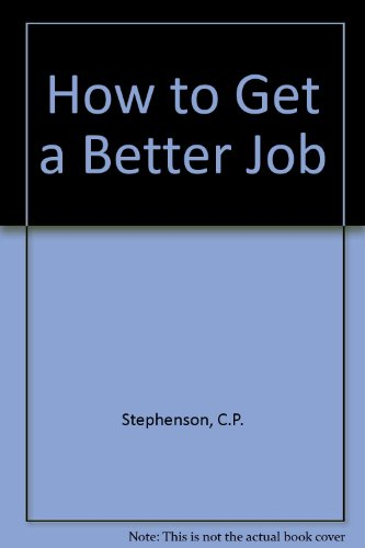 9780722502969: How to Get a Better Job