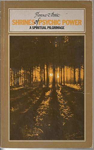 9780722505113: Shrines of Psychic Power: A Spiritual Pilgrimage
