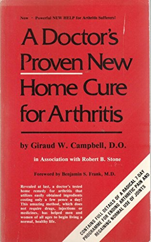 9780722505304: A Doctor's Proven New Home Cure for Arthritis