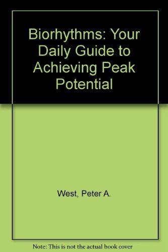 9780722506325: Biorhythms: Your Daily Guide to Achieving Peak Potential