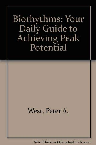 9780722506639: Biorhythms: Your Daily Guide to Achieving Peak Potential