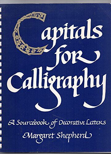 9780722507612: Capitals for Calligraphy: Source Book of Decorative Letters
