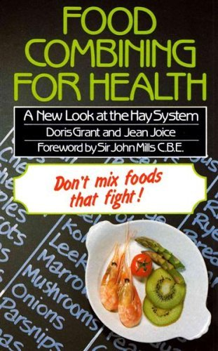 9780722508824: Food Combining for Health