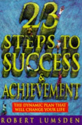 9780722509951: Twenty-three Steps to Success and Achievement