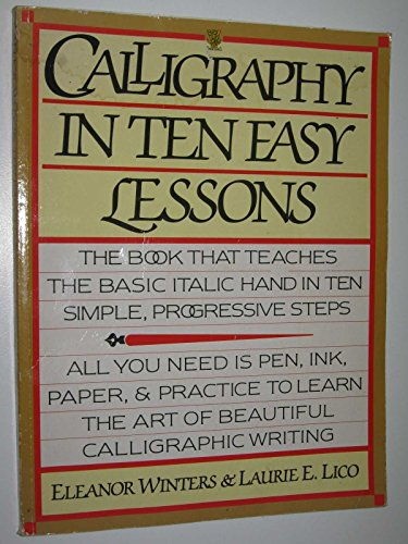 9780722512937: Calligraphy in Ten Easy Lessons