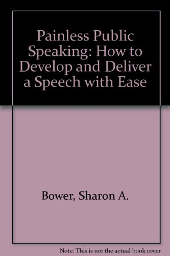 9780722513026: Painless Public Speaking: How to Develop and Deliver a Speech with Ease