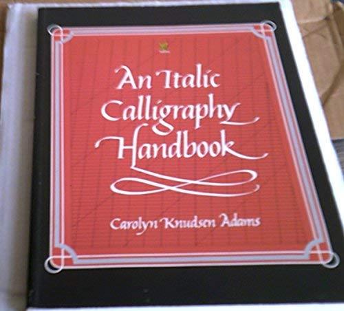9780722514696: An Italic Calligraphy Handbook