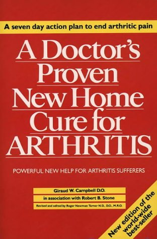 9780722519110: A DOCTOR'S PROVEN NEW HOME CURE FOR ARTHRITIS