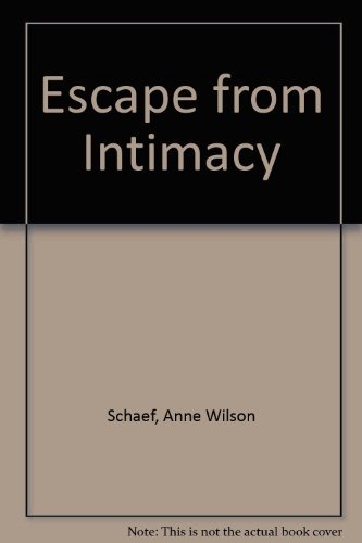 9780722526415: Escape from Intimacy