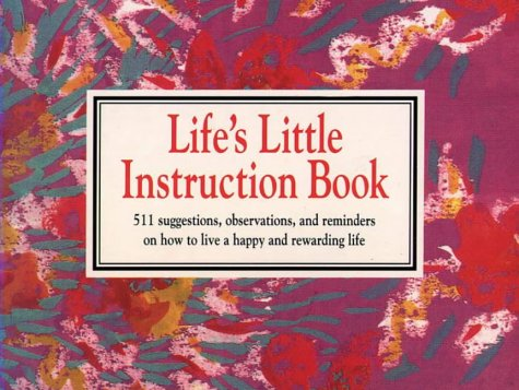 9780722528280: Life's Little Instruction Book