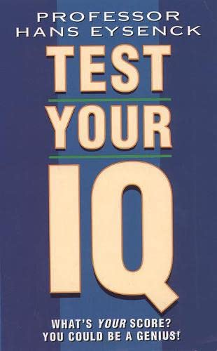 9780722529362: Test Your IQ