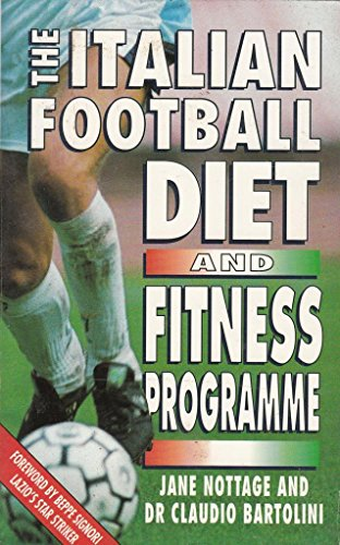 9780722529508: The Italian Football Diet and Fitness Programme