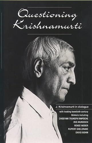 9780722532843: Questioning Krishnamurti