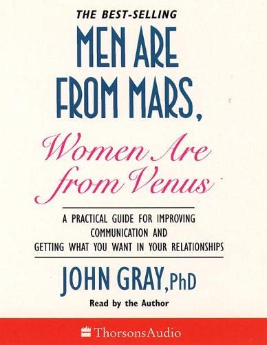 9780722534199: Men are from Mars, Women are from Venus: A Practical Guide for Improving Communication and Getting What You Want in Your Relationships (Thorsons audio)