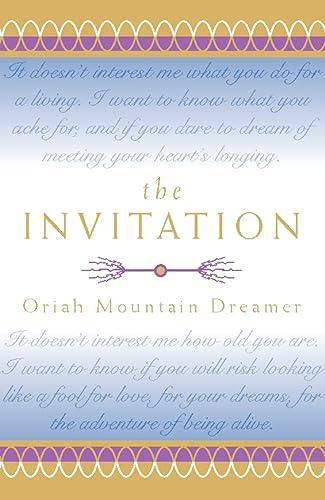 9780722538210 The Invitation AbeBooks Oriah Mountain Dreamer