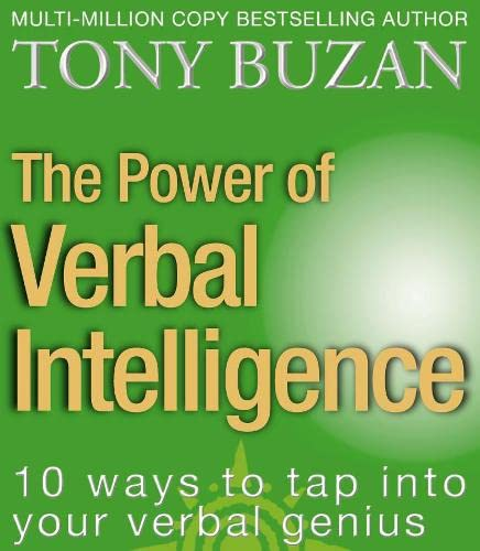 9780722540497: The Power of Verbal Intelligence: 10 Ways to Tap into Your Verbal Genius