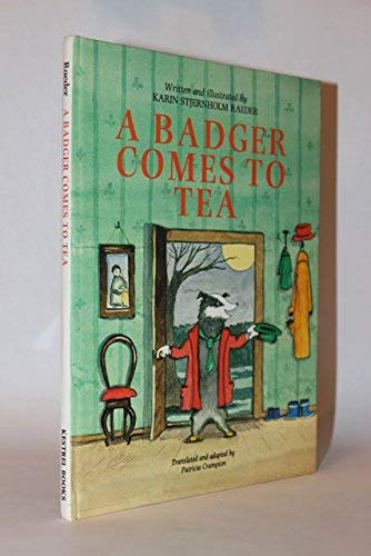 9780722655757: A Badger Comes to Tea (Viking Kestrel picture books)