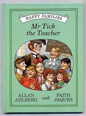 9780722656662: Mr. Tick the Teacher (Happy families)