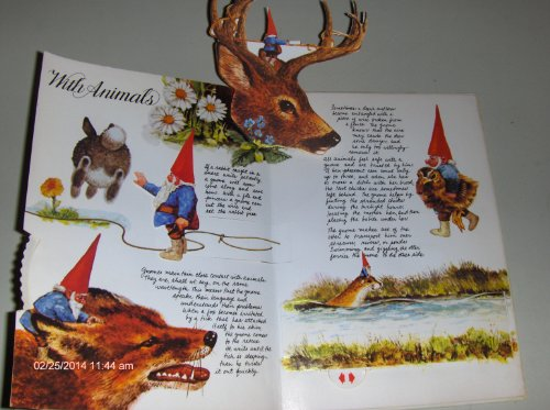 9780722656747: The Pop-up Book of Gnomes