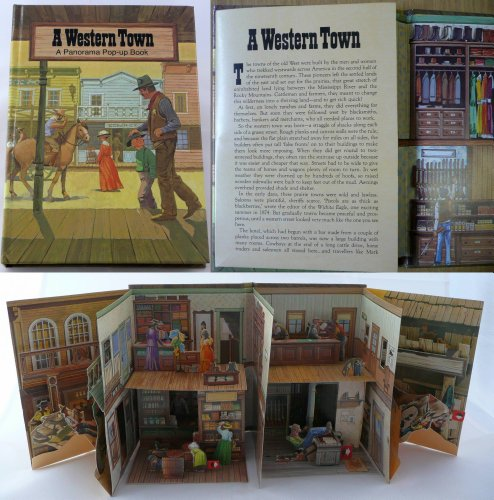 9780722657973: A Western Town: Pop-up Book (Viking Kestrel picture books)