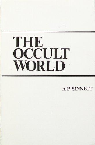 Occult World (Hardcover): A.P. Sinnett