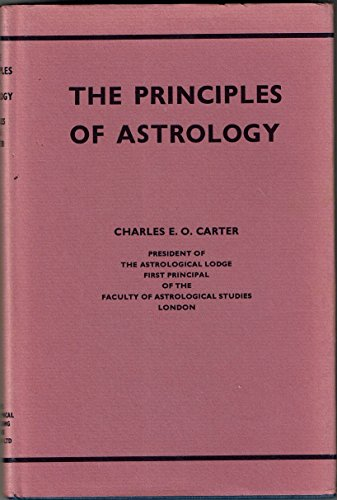 9780722901403: Principles of Astrology, The