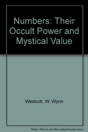 9780722950333: Numbers : Their Occult Power and Mystic Virtues