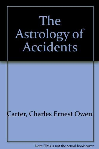 9780722950456: The Astrology of Accidents