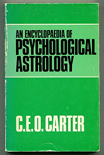 9780722950692: Encyclopaedia of Psychological Astrology