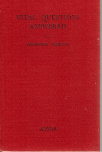 Vital Questions Answered (072297048X) by Hodson, Geoffrey
