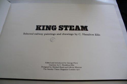 9780723000679: King Steam : Selected Railway Paintings and Drawings