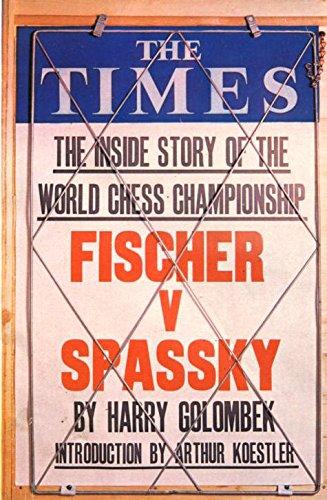 9780723000907: Fischer v Spassky, the World Chess Championship, 1972