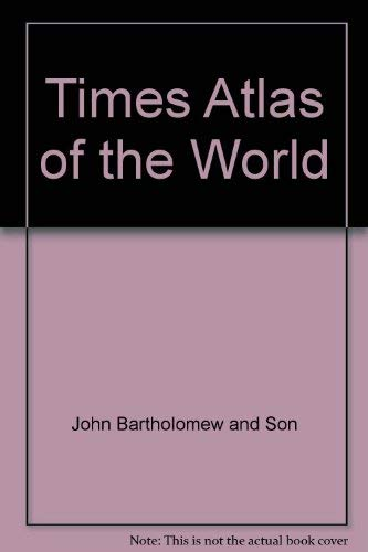 """Times"" Atlas of the World (0723001383) by John Bartholomew and Son"