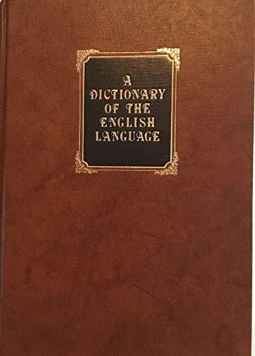 A Dictionary of the English Language: Johnson, Samuel
