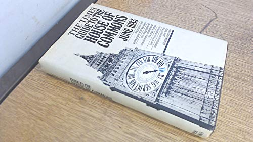 """9780723002550: """"Times"""" Guide to the House of Commons: June, 1983"""