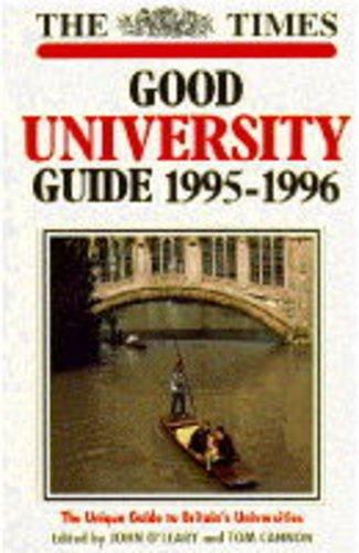 Good University Guide 1995-1996: John O'Leary and