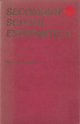 9780723102137: Secondary School Esperanto: Bk. 2