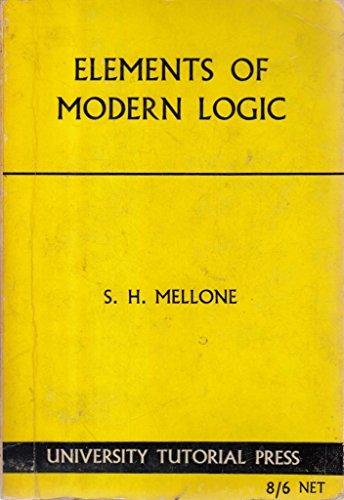 elements of modern logic: mellone