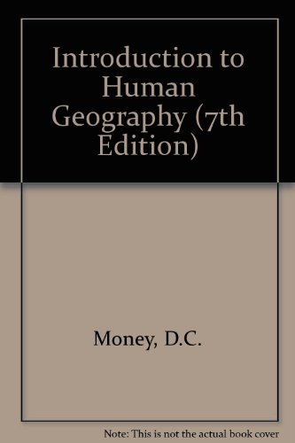 9780723106975: Introduction to Human Geography