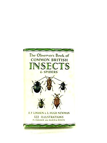 9780723200598: The Observer's Book of Common Insects & Spiders (Observer's Pocket)