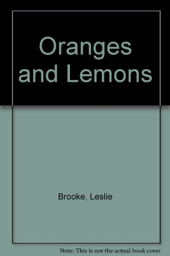 Oranges and Lemons (0723205779) by Brooke, L. Leslie