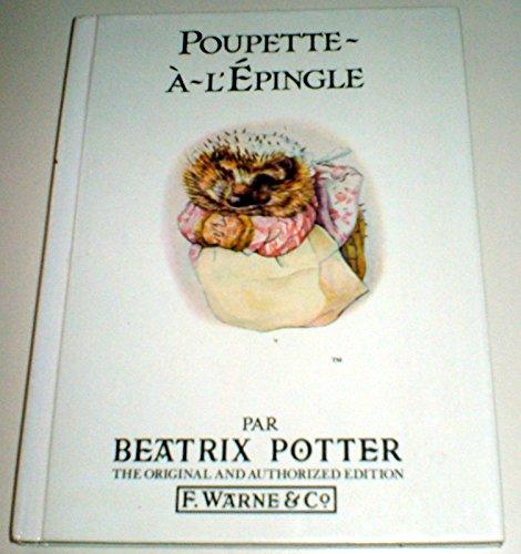 9780723206521: Poupette-A-L'Epingle / Mrs. Tiggy-Winkle